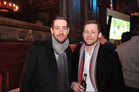 Rhys Thomas (writer) and Zak Brilliant (Icon Film Distribution)